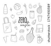 zero waste vector illustration...   Shutterstock .eps vector #1747450589
