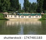 Boathouse In The Water Lake