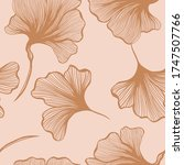 abstract botanical seamless... | Shutterstock .eps vector #1747507766