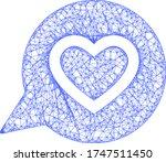 web net favourite heart message ...   Shutterstock .eps vector #1747511450