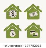 shopping design over  white... | Shutterstock .eps vector #174752018