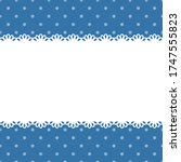 blank template  layout  white... | Shutterstock .eps vector #1747555823