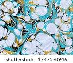 Ebru Art Marble Design...