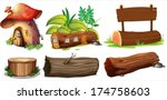 illustration of the different... | Shutterstock .eps vector #174758603