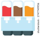 soft drink dispenser icon ...   Shutterstock .eps vector #1747749956