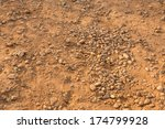 dirt texture with small rocks... | Shutterstock . vector #174799928