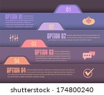infographics template and web...