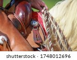 Horse Western With Rider  Close ...