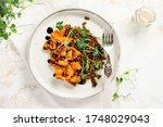 Salad With Baked Pumpkin ...