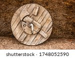 An Old Fashioned Wooden Wheel...