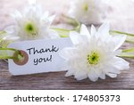 White Label With Thank You And...
