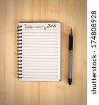 to do list for 2014 february | Shutterstock . vector #174808928