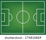 soccer field  | Shutterstock .eps vector #174810869