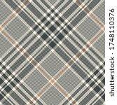 Tweed Plaid Pattern. Seamless...