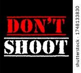 do not shoot calligraphic text...   Shutterstock .eps vector #1748133830