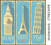 Big Ben Tower London  Eiffel...