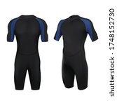 3d realistic vector dive... | Shutterstock .eps vector #1748152730