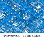 summer floral background.... | Shutterstock . vector #1748162336