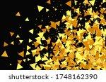 geometric anniversary backdrop. ... | Shutterstock .eps vector #1748162390