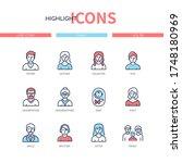 family members   line design...   Shutterstock .eps vector #1748180969