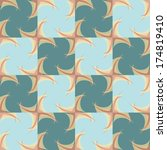 seamless geometric background... | Shutterstock .eps vector #174819410