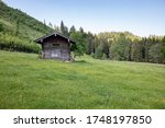Traditional Wooden Shack On...