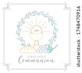 First Holy Communion Invitatio...