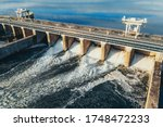 Hydroelectric Dam Or Hydro...