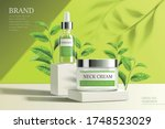 ad template for face essence ... | Shutterstock .eps vector #1748523029