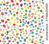 Color Polka Dot. Abstract...