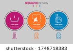 abstract paper infografics of... | Shutterstock .eps vector #1748718383