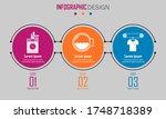 abstract paper infografics of... | Shutterstock .eps vector #1748718389