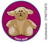 teddy bear clip art.in the... | Shutterstock .eps vector #1748771873