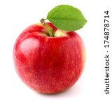 fresh apple | Shutterstock . vector #174878714