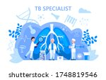 tuberculosis specialist concept ...   Shutterstock .eps vector #1748819546