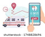 Ambulance Service. Urgent 911...