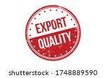 export quality rubber stamp.... | Shutterstock .eps vector #1748889590