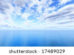 beautiful seascape | Shutterstock . vector #17489029