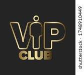 vip club invitation template  ... | Shutterstock .eps vector #1748910449