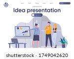 idea presentation landing page...