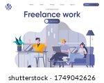 freelance work landing page...