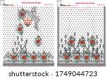 modern salwar kameez artwork... | Shutterstock .eps vector #1749044723