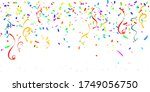 colorful celebration background ... | Shutterstock .eps vector #1749056750