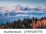 Beautiful Slovakia nature High Tatras