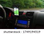 Using Waze Maps Application On...