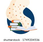 international literacy day...   Shutterstock .eps vector #1749204536