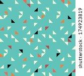 seamless geometric pattern | Shutterstock . vector #174923819