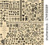 design elements set | Shutterstock .eps vector #174930089