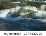 Silky  Cascading Water Of Broa...