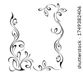 unique decorative rectangular... | Shutterstock .eps vector #1749382406